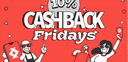 10% Cashback Satispay Fridays