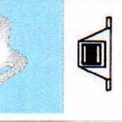 CHIUSURE CALAMITE  MAGNETICHE A SCATTO KG 10 BIANCA