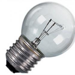 LAMPADINE SFERA CHIARA 15W E 27 INCANDESCENZA