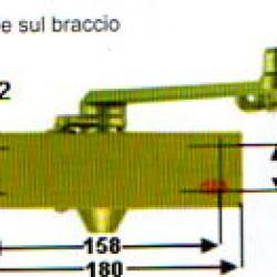 CHIUDIPORTA AERODINAMICO MAB  502 FORZA 2
