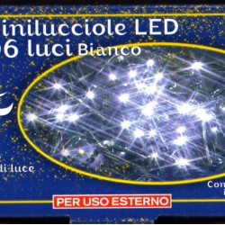 MINILUCI  PROLUNGATA 60 LED BIANCA