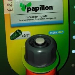 RACCORDI RAPIDI PAPILLION ACQUASTOP 5/8