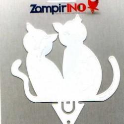 ZAMPIRINO GATTO BIANCO BY ALUBOX
