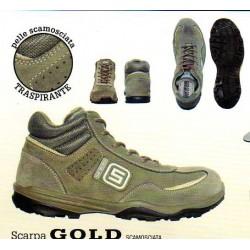 SCARPE ALTE GOLD SCAMOSCIATE SARATOGA