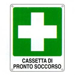 CARTELLI ALL. CASSETTA PRONTO SOCCORSO SPESS 0.5 mm mm 250x310